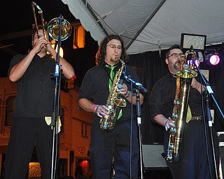 Hoss and The Juggernauts during VexFest 8 in downtown Youngstown on Sunday, August 14, 2011.