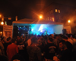 Boombox headlined VexFest 8 on Sunday, August 14, 2011 in downtown Youngstown.