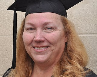 Cindy Farell at the 2011 YSU Summer commencement....Photo By:  Lindsay Y McCall   The Vindicator