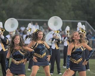 Lowellville Rocket Danceline members entertain the fans at halftime!