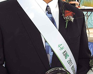 Zach Adams, 17, of Berlin Center, is the 2011 Junior Fair King. Zach, a senior at Western Reserve High School, has been involved 4-H activities for 11 years. He is a member of the Mahoning County Outdoorsmen.