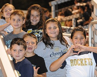 Young Lowellville Rocket fans