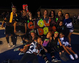 Poland Highschool seniors show their spirit and support for the Bulldogs in their game agaisnt Lakeview.