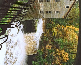 Lana Vannauker  of Canfield sent in this photo of Lanterman's Mill in Mill Creek Park.