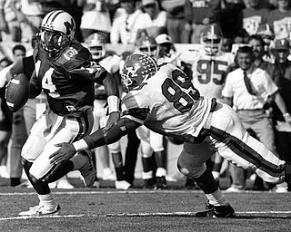 I-AA National Championship game - Youngstown State University vs Marshall at Georgia Southern University, Saturday, Dec. 21, 1991