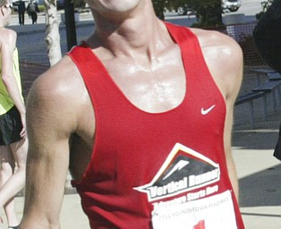 William D. Lewis|The Vindicator 3 rd place runner Andrew Carnes