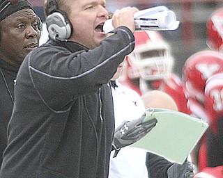 ROBERT K. YOSAY | THE VINDICATOR...YSU vs Western Illinois - homecoming at YSU and a win 56-14 ......-30
