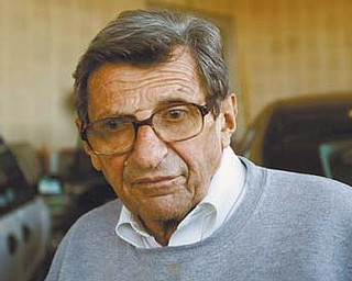 "Penn State football coach Joe Paterno's support among the Penn State board of trustees was described as ""eroding"" Tuesday, threatening to end the 84-year-old coach's career amid a child sex-abuse scandal involving a former assistant and one-time heir apparent."