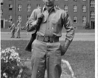 Sheree Savon of Youngstown sent in this photo of her father, Merrill E. Williams of Boardman, now deceased. He served with the U.S. Army in Germany from 1953 to 1955.