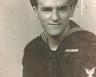 Earl Kurinowski of Girard served in the U.S. Navy from 1943 to 1946.