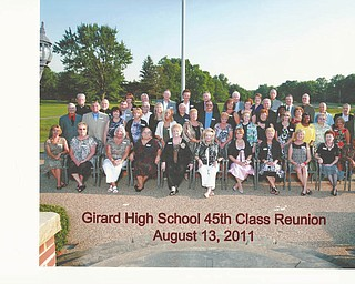 Girard classmates reunite after 45 years