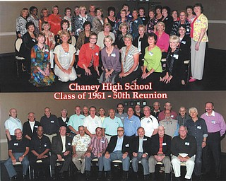 Chaney High School's Class of 1961 enjoyed its 50th class reunion the weekend of Sept. 23-25. The three-day event included a mixer, dinner at Fifth Season Banquet Center and a breakfast to wrap up the weekend.