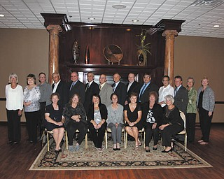 Lowellville High School memories: Lowellville High School Class of 1961 had its 50-year reunion Sept. 24 at Antone's Banquet Center, Boardman. A cocktail hour was followed by a sit-down dinner, and the evening featured music of the '60s. The class vice president, Daniel Mamula, acted as master of ceremonies. A prayer was said for deceased classmates, Lawrence Meehan, James Dovich, Josephine Fiocelli and William Morocco. Twenty-one of the 32 class members attended. They are, top row, from left, Jean Eastop, Joan Schiavello, Marshall McCree, Joseph Flora, Charles Schiavello, Daniel Mamula, William Schiraldi, George Reedy, Raymond Schrader, William Mariotti, Anthony Mediate, Dennis McDonagh, Kathleen Paulo and Elizabeth McLeod. In the bottom row are Donna Traveline, Janet DeLucia, Annamarie Migliozzi, Diane Hvisdak, Janet Erdel, Lucy Rachic and Patricia Rich. A breakfast at the Saxon Club in Austintown wrapped up the festivities.