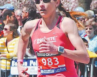 Sarah Flament, 36, of Poland will compete in the Olympic trials for the marathon Jan. 14 in Houston.