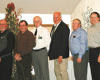 Berlin Ellsworth Ruritan officers, from left to right, are: Wayne Holton, zone governor; Ken Bennett, a member of the board of directors; John Bates, president; Jeff Craig, vice president; Ray Schafer, treasurer; and Dwain VanAuker, secretary.