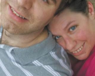 Shane Sylvester and Rebecca Vulcan