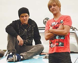 "Chris Lilley stars in HBO's ""Angry Boys."""