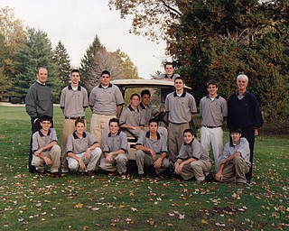 Jason Kokrak on his JFK high school golf team.