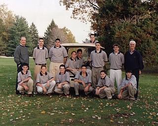 Jason Kokrak on his JFK high school golf team.