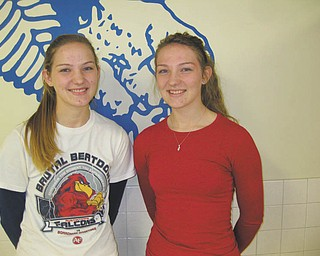 Jaclynn and Amanda Choma of Austintown Fitch High School have been chosen to represent Austintown at the Rotary Youth Leadership Award conference for three days in late February. They will meet with other juniors from Northeast Ohio. In all, 88 students and presenters will attend the event, which will take place at the Avalon Inn in Warren. The twins, who are active in the Rotary-sponsored Interact Club at Fitch, will separate as a way to meet the maximum number of new people. The Rotary Club of Austintown provided full financial support for the three-day event, an annual project.