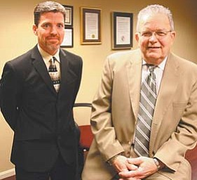 Edward Stark, who becomes superintendent of the Trumbull County Board of Developmental Disabilities' Fairhaven Program on March 1, wasn't working for the board in 2001 when Dr. Douglas Burkhardt became superintendent.
