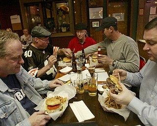 The Mahoning Valley Burger Review Board at The Lake Tavern.