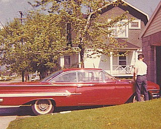 Barbara Cardarelli of Struthers says there is nothing quite like the love a man has for his cars, and her husband, Bill, is no exception. This 1960 Chevy Impala was the first new car he ever owned.