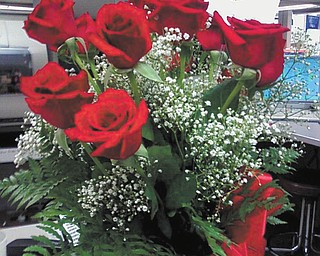 Christy Markopoulos of Niles sent this photo of a dozen roses sent to her by her boyfriend, Jack.