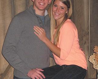 Paul Landis and Kristen McCauley