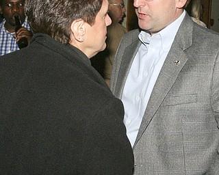 ROBERT K. YOSAY|THE VINDICATOR..election night...  Jay Macej...-30-