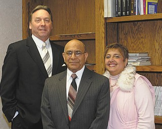 The American Cancer Society will present its sixth annual Cattle Baron's Ball on March 24. To be honored this year are, from left to right, cancer survivor Glenn Stevens, 21 WFMJ-TV newscaster; 