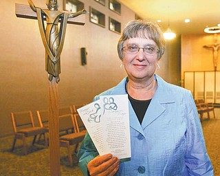 "Two prayers, ""Prayer for the Sick"" and ""Caregivers' Prayer,"" composed by Sandra Lucas, regional director of spiritual care for Humility of Mary Health Partners, were selected this year by the National Association of Catholic Chaplains for publication among its members."