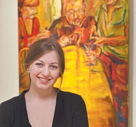 Nikki Mehle, a Canfield High School graduate and a student at the Cleveland Institute of Art, has won a