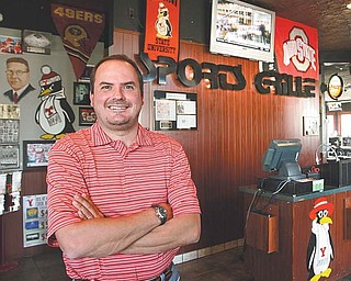 "The Youngstown Sports Grille's last day in its South Avenue building is Saturday. ""We'll have a big going-away party with style. We have a lot to be proud of,"" said owner Sean Pregibon, pictured here."
