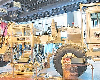 A seismic truck, such as this one on display at the Fort Worth Museum of Science and History, is used to monitor potential seismic activity before oil and gas exploration.