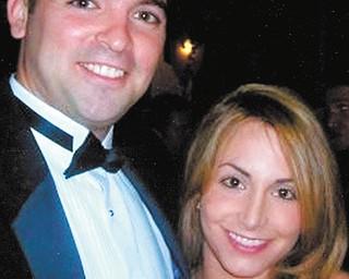 Tony Tringhese and Sarah Esfahani