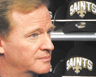 NFL Commissioner Roger Goodell rejected the appeals of head coach Sean Payton and other New Orleans Saints officials stemming from the league's probe into the club's bounty system. After hearing from Payton, general manager Mickey Loomis and assistant head coach Joe Vitt last week, Goodell decided on Monday to uphold his initial sanctions, which include Payton's suspension for the entire 2012 season. Next on Goodell's agenda: discipline for players involved in the bounty program that began under defensive coordinator Gregg Williams in 2009, the season the Saints won the Super Bowl.