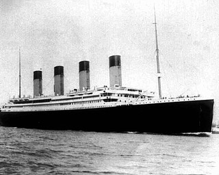 FILE--Undated file photo of the doomed liner the S.S. Titanic. Salvage operators hope to raise a large chunk of the British liner, which sunk on it's maiden voyage 84 years ago, when it struck an iceberg in the north Atlantic. The salvage operation planned for late August.(AP Photo/PA,Files)