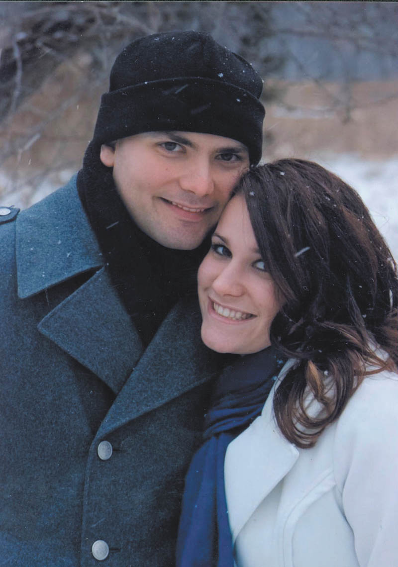 Paul Longo and Faith Moore