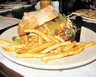 The infamous Eddie Burger.