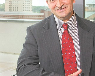Mousa Kassis, adviser with the International Trade Assistance Center at YSU, spoke Tuesday about the opportunity for small- and medium-sized businesses in the Mahoning Valley to take advantage of exporting opportunities.