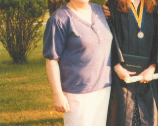 Even though her mother, Ann Marie Horvath, has been gone since 1993, Kendra Wilcox of Hubbard still talks to her every day in prayer to make the best of their special friendship.