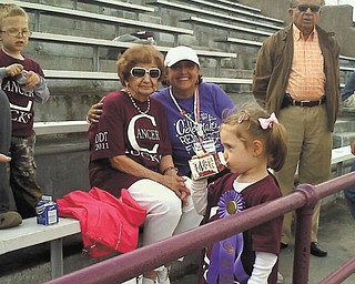 """Donna Detwiler calls her mom, Carmel """"Carmie"""" Giambattista, her BFF. As a cancer survivor, Donna says she's uplifted and encouraged by her mother, whose sense of humor and homemade bread, pizza and cavatelles are the best! They live in North Lima."""