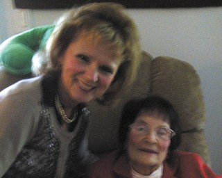 """After writing about her 98-year-old mother's colorful, rich, fulfilling and inspirational life, Barb Zorn of Austintown summed up her true feelings about her mother, Stella Bilas of Poland, in these four words: """"You should know her."""" Very high praise, indeed."""