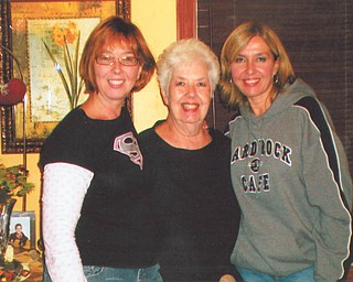 """Here are Paula Marco of Boardman and her sister, Debbie Bierdeman of North Lima, with their mother, Carole Roberts Gatchall of Poland. Paula says, """"The best compliment I've ever received was when I was told I've 'turned into my mother!'"""""""