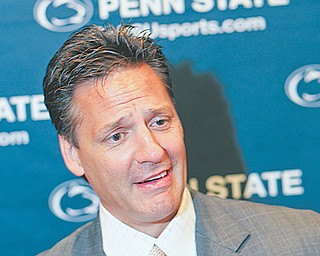 Guy Gadowsky will begin his second season as coach of the Penn State men's hockey program, which begins Big Ten play in 2013-14.