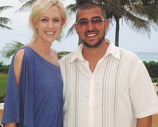 Megan Villers and Justin Banasiewicz