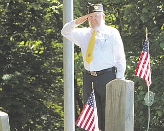 Seven deceased veterans, two with previously unmarked graves, will be the center of attention at American Legion Post 247's Memorial Day service at Poland Township Cemetery