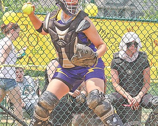 Champion catcher Sierra Blackson was running on pure adrenaline during the seventh inning of the Division III regional softball final against Black River last weekend. Blackson contributed a hit in the top half of the inning, then corralled the first out in the bottom with a diving effort against the backstop.