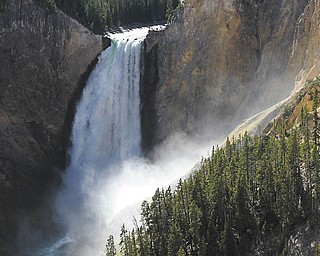 Tom Walker of Canfield took this photo of the Yellowstone Upper Falls.